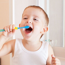 hot water brush teeth