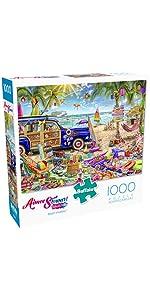 Beach Vacation - 1000 Piece Jigsaw Puzzle