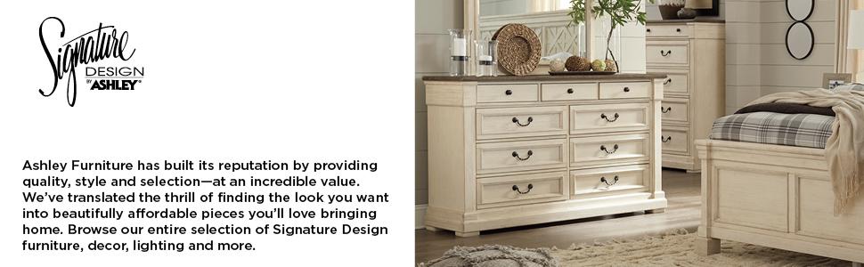 Amazon Com Signature Design By Ashley Prentice Dresser