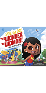 Superheroes wonder woman superman social skills friendship graphic novels DC Comics action adventure