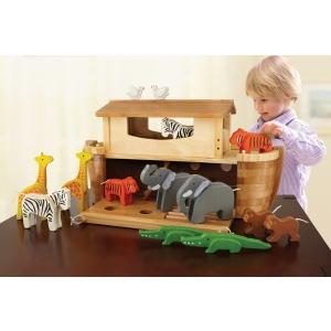EverEarth Große Arche Noah mit 14 Tieren EE33727