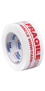 T902P02 Tape Logic Pre-Printed Carton Sealing Tape for Fragile Items