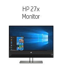 HP 27x Monitor