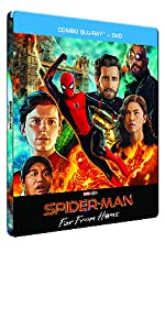 spider man far from home spidey amazon exclu steelbook
