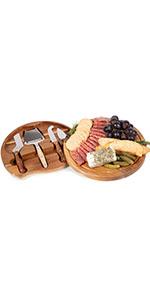 charcuterie boards, cheese board, cheese board set, cheese board and knife set, travel cheese board