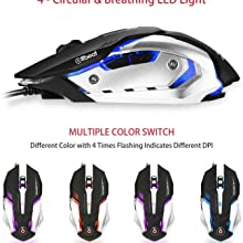 Offbeat mouse gaming mice