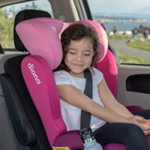 Kopfst/ütze mit 6 Positionen Diono Cambria 2 Gruppe 2//3 Blau verl/ängerbarer Kindersitz mit hoher R/ückenlehne 18/–54 kg