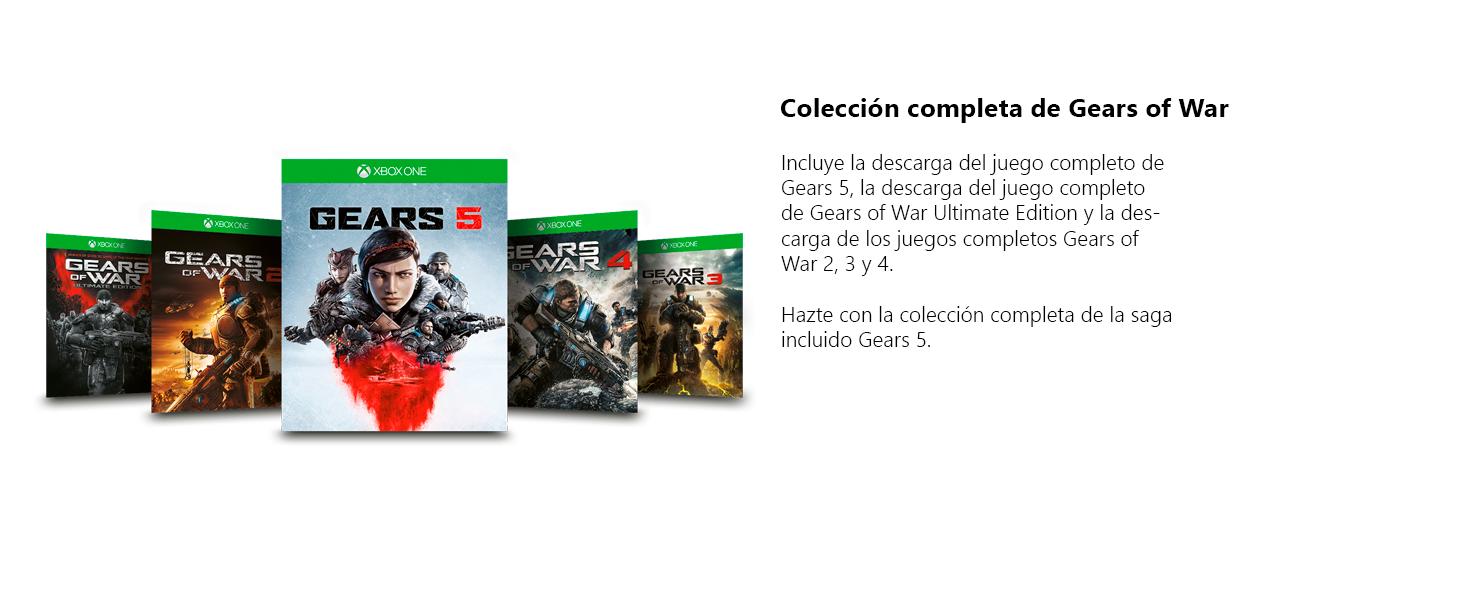 Xbox One S Gears 5: Amazon.es: Videojuegos