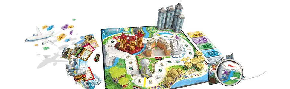 Esdevium Games Juego de Mesa Asmodee Hotel Tycoon, Juegos de ...