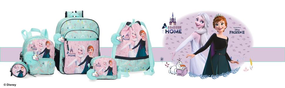 equipaje y mochilas disney frozen