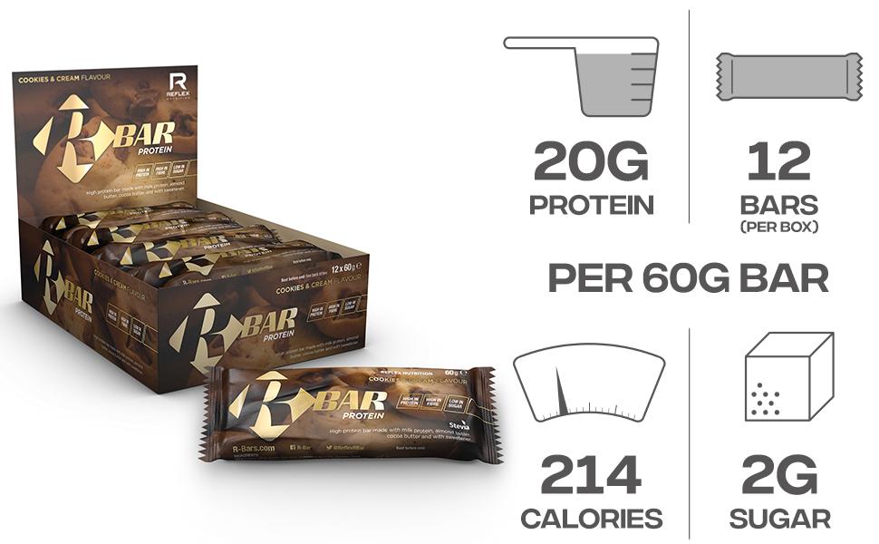 Reflex Nutrition Reflex Nutrición R-Bar Barra De Proteínas ...