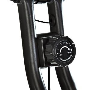 T-LoVendo TLV-XB01. Bicicleta estática Plegable Tipo X, detalles.