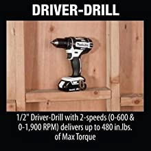 Driver;drill;drill-driver;speed;torque;delivers