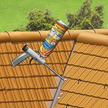 Sika Boom T, Espuma de poliuretano listo para su empleo para pegado de tejas, 750ml, Rojo: Amazon.es: Bricolaje y herramientas