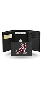 wallet,mens wallet,wallet for women,wallet for men,leather wallet,Alabama Crimson Tide,Crimson Tide
