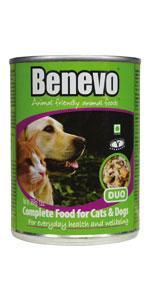 Benevo Duo Veganes Hunde und Katzen Feuchtfutter, 396 g