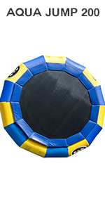 20 foot water trampoline for inflatable water bouncer