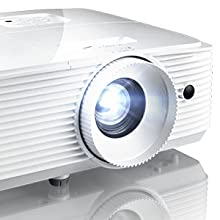 optoma video projector . lens