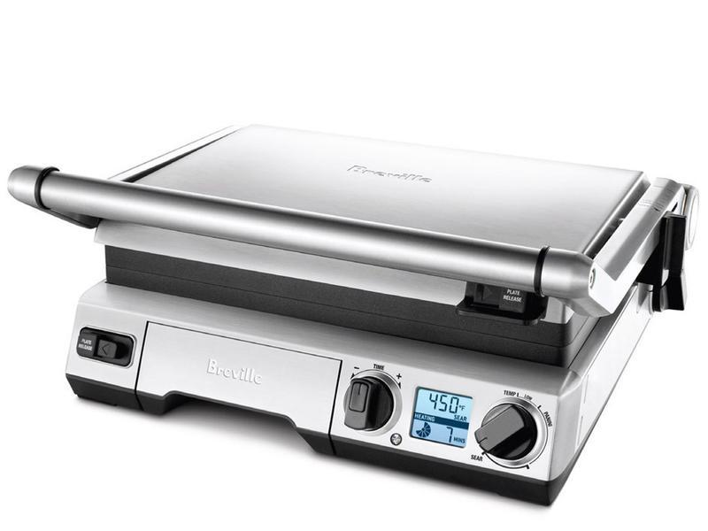 Amazon Com Breville Bgr820xl Smart Grill Electric