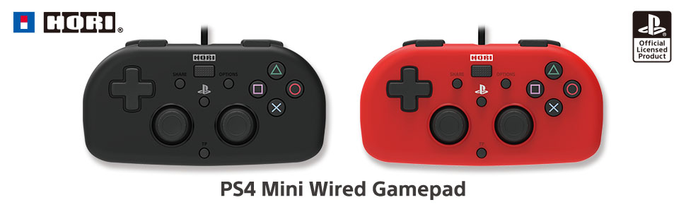 PS4 Mini Wired Gamepad
