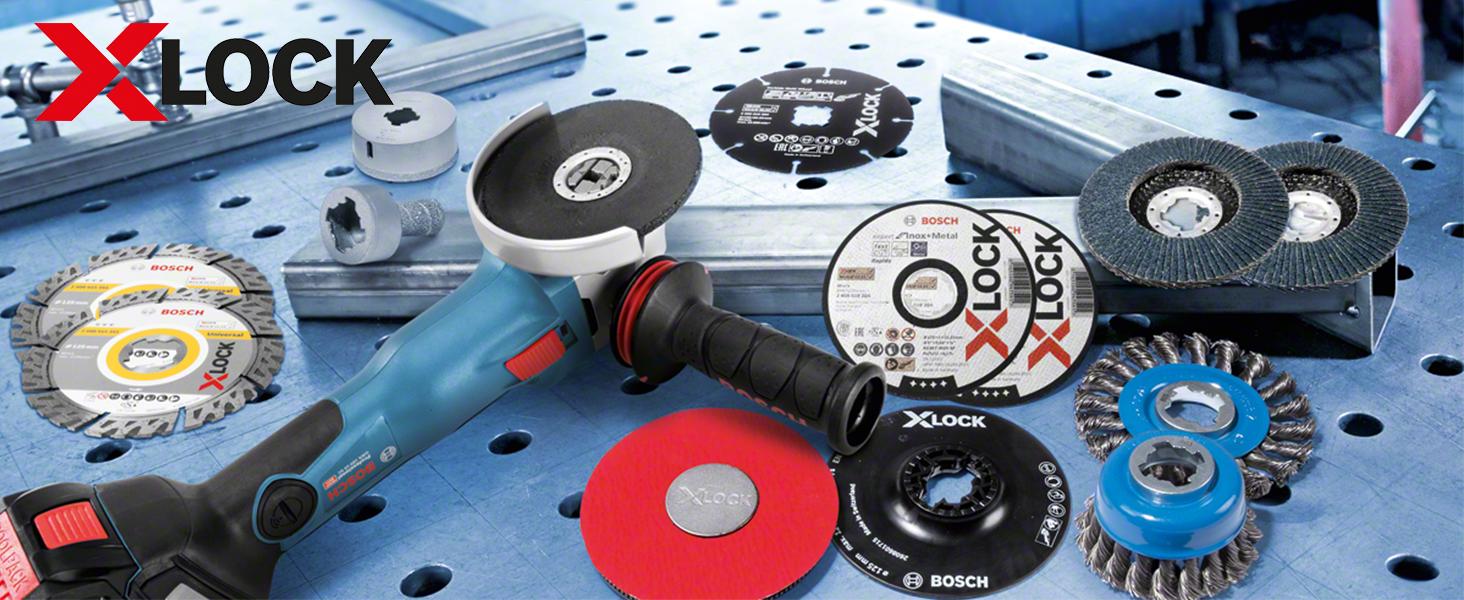 Bosch Professional - Plato de soporte duro (X-LOCK, Ø125 mm ...