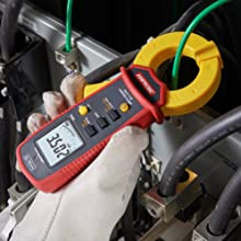 amprobe, fluke, leakage clamp, clamp meter, current clamp