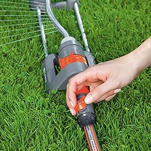 sprinkler,gardena,watering,connector,coupling,easy,gardening,watering