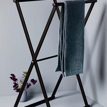 Handdoekhouder Lava zwart mat