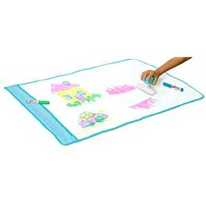 Reusable Drawing Surface for Easy Clean Up