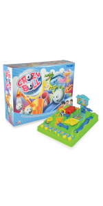 TOMY Lernspiel für Kinder Pic/'nPop Spielzeug für Draußen//Drinnen Ballspiel NEU