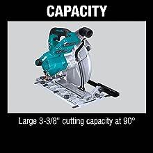 """capacity large 3-3/8"""" cutting capacity at 90"""