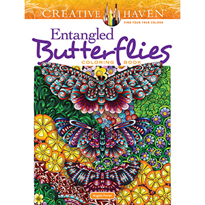 Creative Haven Entangled Butterflies Coloring Book
