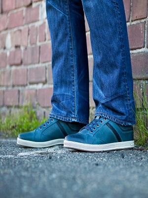 lucas navy; wide width shoe; propet lucas