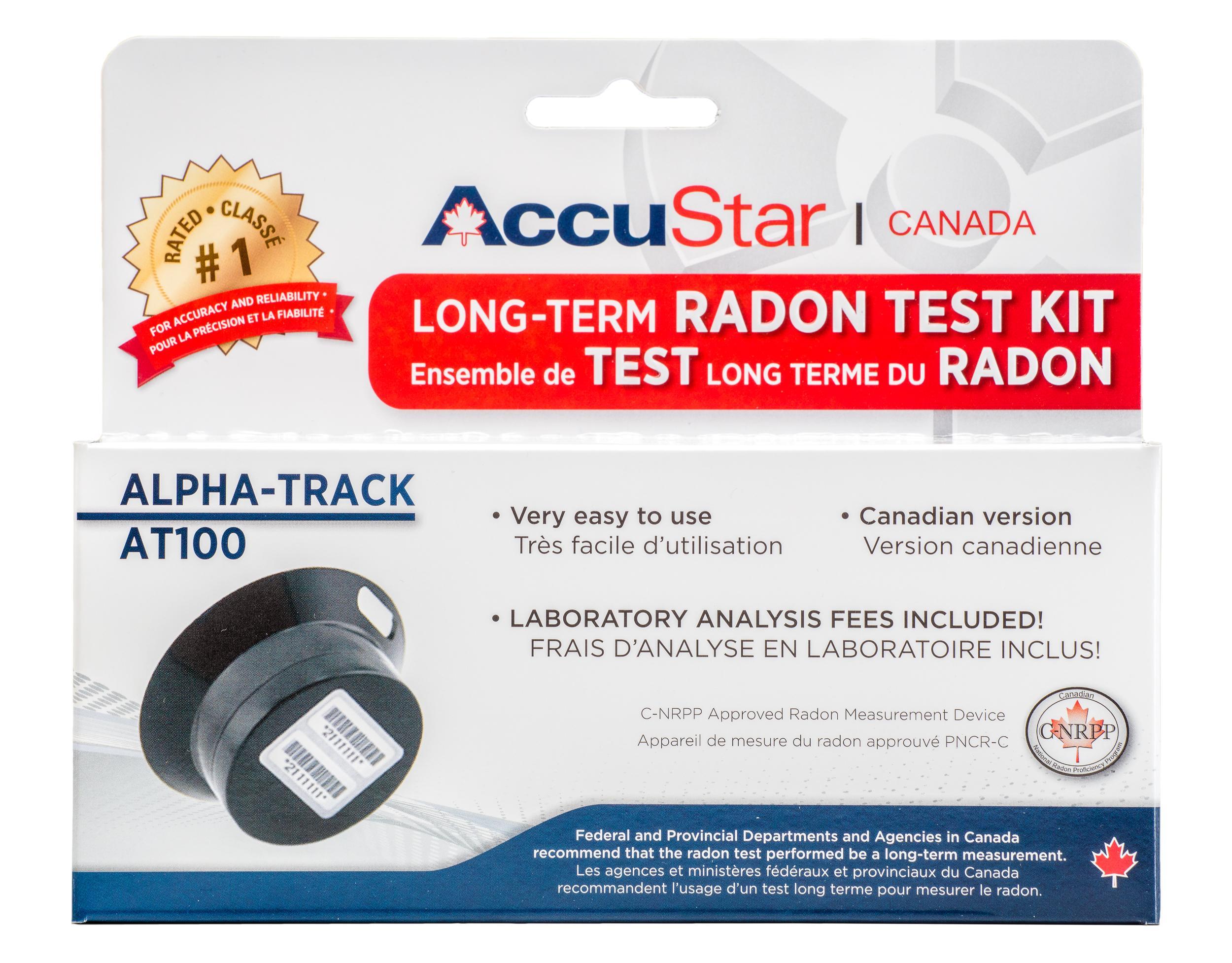 pro lab radon test kit instructions