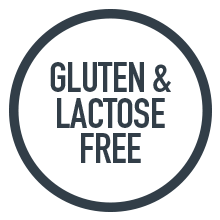 gluten and lactose free