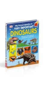 Kids encyclopedia about dinosaurs