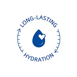 Long lasting hydration for sensitive skin.