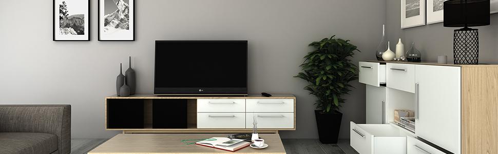Verstelbare meubelpoten.
