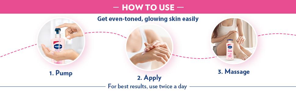 Vaseline Healthy Bright Daily Brightening Body Lotion 400 ml
