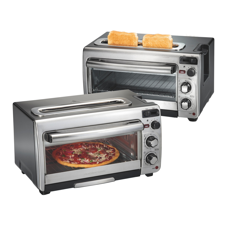 Amazon Com Hamilton Beach 2 In 1 Countertop Oven And 2