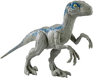 Amazon.com: JURASSIC WORLD LARGE BASIC Velociraptor Blue: Toys & Games