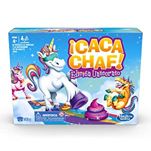 Hasbro Gaming - Juego infantil Unicornio Cacachaf (Hasbro E2645546): Amazon.es: Juguetes y juegos