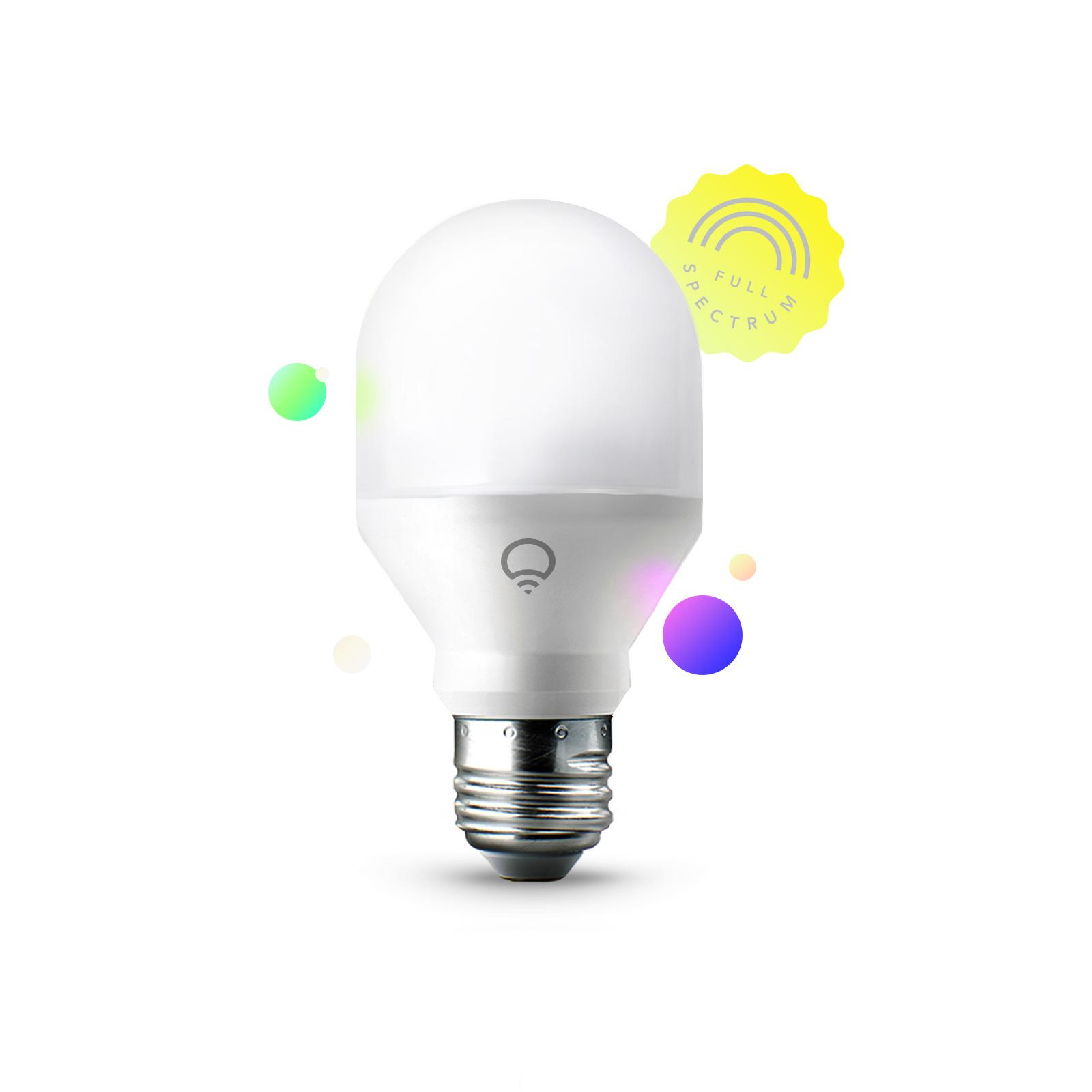LIFX Mini (A19) Wi-Fi Smart LED Light Bulb, Adjustable ...
