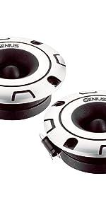 Genius GPRO-T09 1 150 Watts-Max Tweeter Car Audio Aluminium Diaphragm 4-Ohms Aricasa