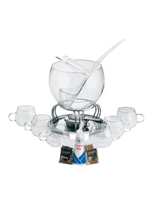 Kela 366160 Glas-Feuerzangenbowle-Set, Heinz Rühmann, 15