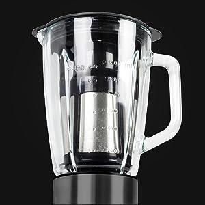 Cecotec Batidora de vaso Power Black Titanium 1500 de 1500 W con ...