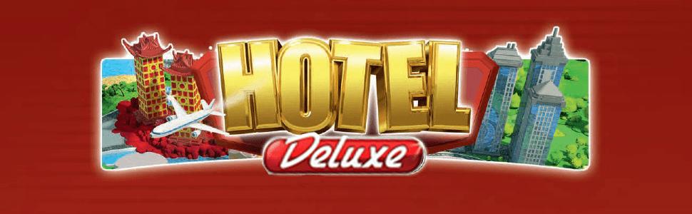 Asmodee- Hotel Deluxe - Español, Color, 40.1 x 26.7 x 8.4 (HOT01ES): Amazon.es: Juguetes y juegos