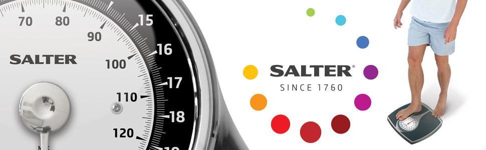 Salter - Báscula mecánica, color gris: Amazon.es: Salud y cuidado ...