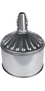 Center Spout Funnel