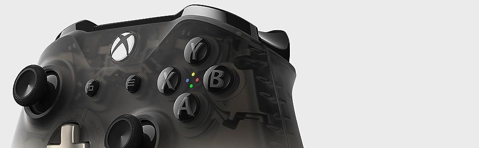 Microsoft Xbox Wireless Controller Phantom Schwarz